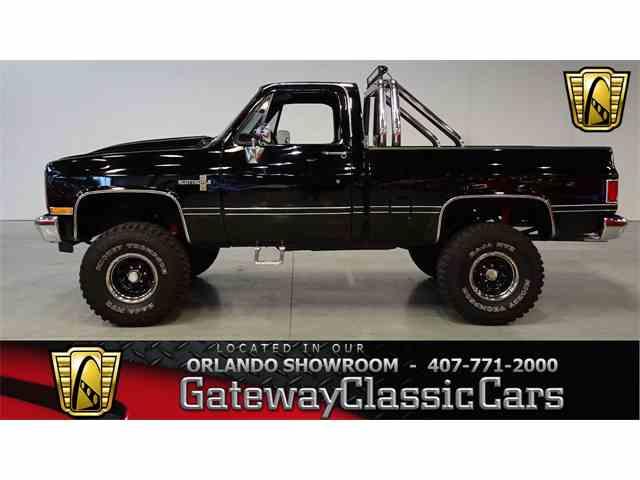 1987 Chevrolet K-10 | 1004436