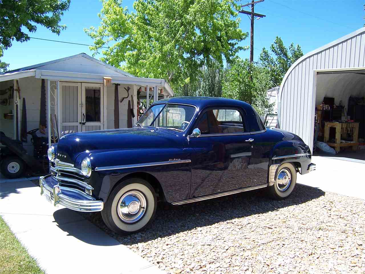 1949 Plymouth Business Coupe For Sale Classiccars Com