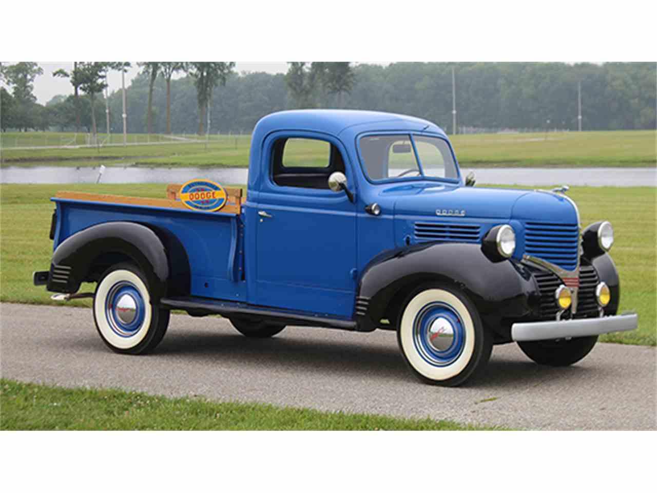 1941 dodge ton pickup for sale cc 1004609. Black Bedroom Furniture Sets. Home Design Ideas