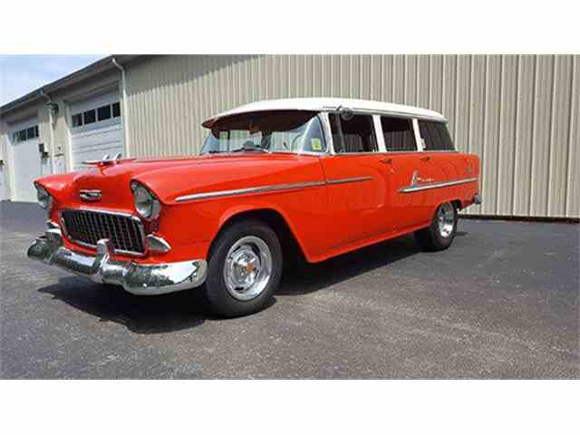1955 Chevrolet Bel Air Four-Door Station Wagon | 1004664