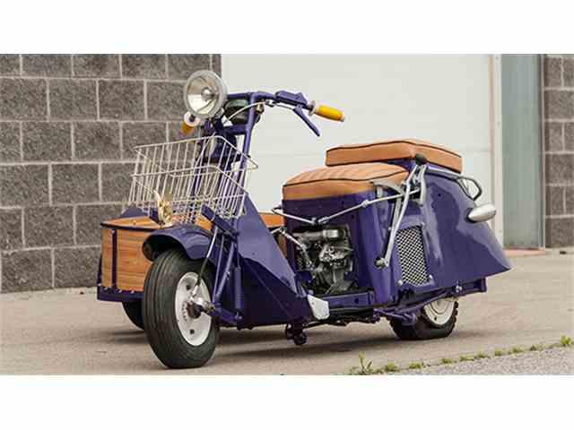 1948 Cushman 50 Series with Sidecar | 1004678