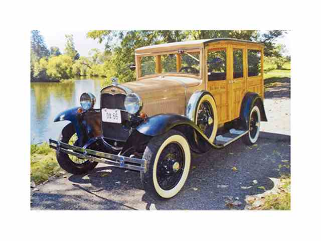 1931 Ford Model A Station Wagon | 1004714