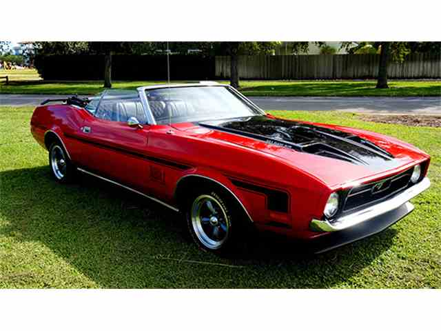 1971 Ford Mustang Custom Convertible | 1004721