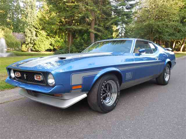 1971 Ford Mustang Mach 1 SCJ | 1004823