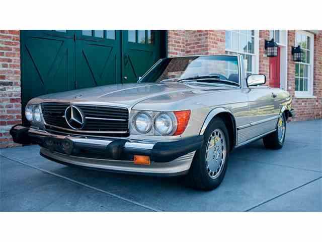 1987 Mercedes-Benz 560SL   1005425