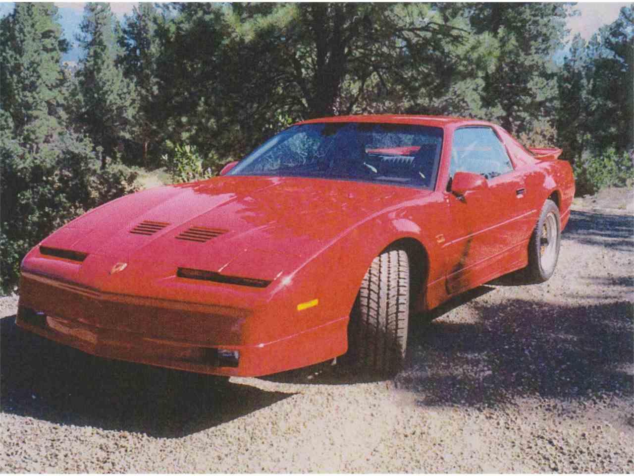 Classic 1988 Trans Am GTA for sale: detailed description ...