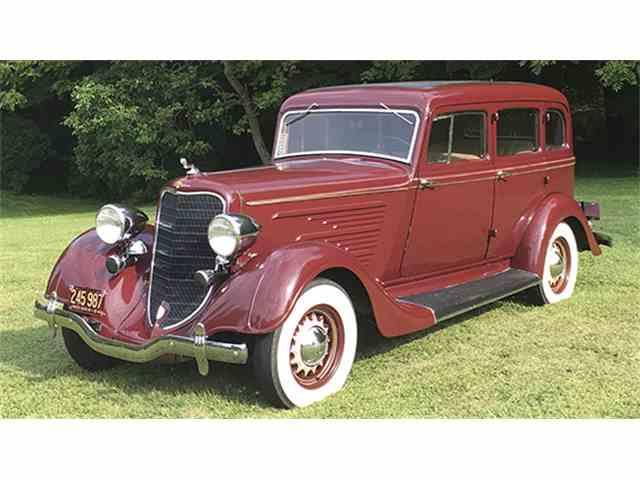 1934 Dodge 4-Dr Sedan | 1005638