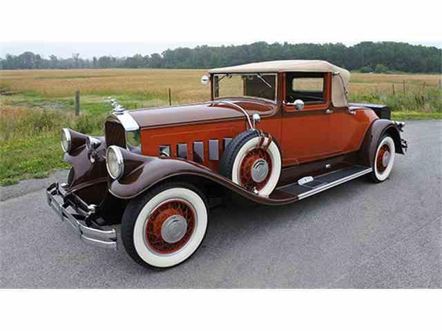 1929 Pierce-Arrow Model 126 Convertible Coupe   1005690