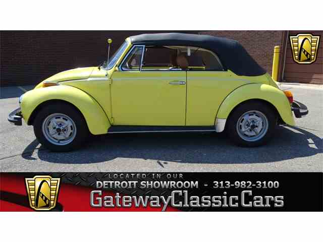 Picture of 1979 Super Beetle located in Dearborn Michigan - $18,595.00 - LJZW