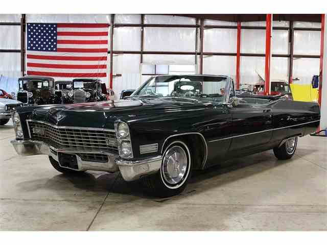 1967 cadillac deville for sale on 7. Black Bedroom Furniture Sets. Home Design Ideas