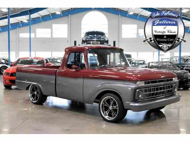 1963 to 1965 ford f100 for sale on 23. Black Bedroom Furniture Sets. Home Design Ideas