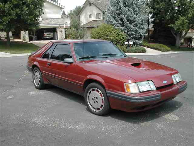 1985 Ford Mustang SVO | 1006510