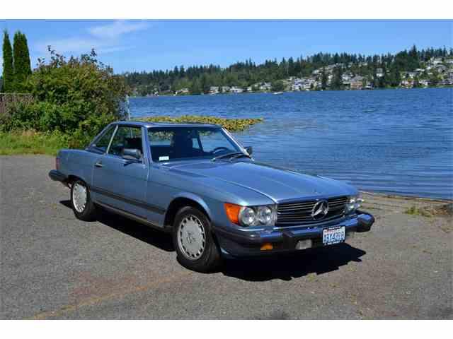1986 Mercedes-Benz 560SL   1006529
