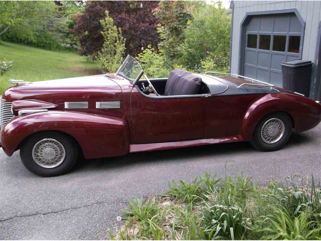 1939 cadillac speedster for sale cc 1006565. Black Bedroom Furniture Sets. Home Design Ideas