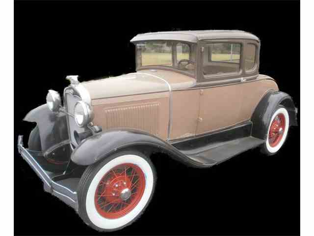 1931 Ford Model A 5 Window Coupe | 1000658