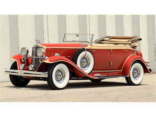 1932 Nash Ambassador 8 Convertible Sedan | 1006629
