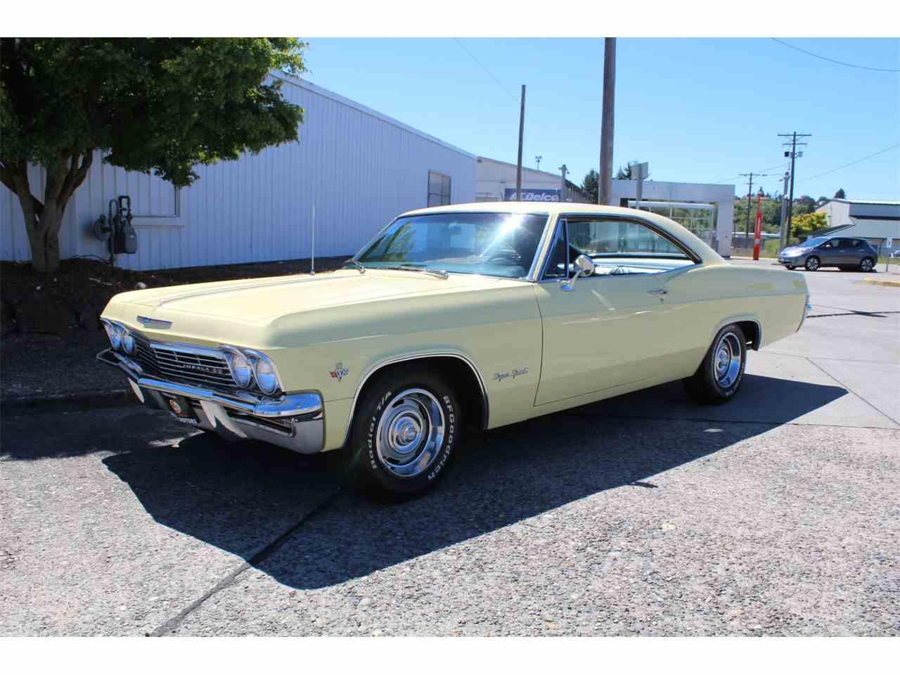 1965 Chevrolet Impala Ss For Sale Classiccars Com Cc
