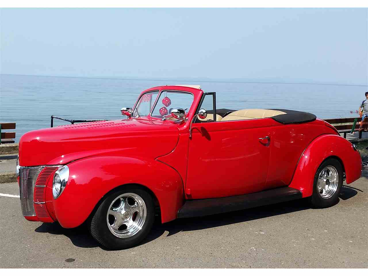 1940 Ford Deluxe Convertible Coupe for Sale | ClassicCars.com | CC ...