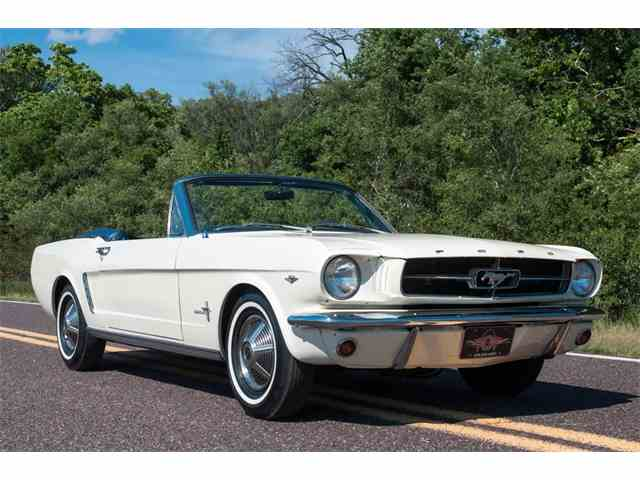 1965 Ford Mustang D-code Convertible | 1000701