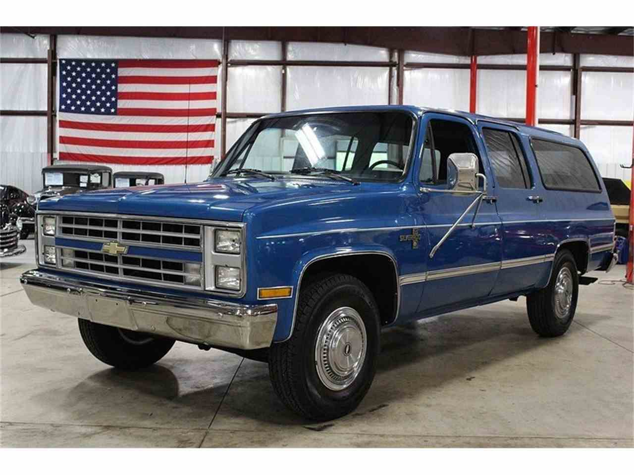 1988 chevrolet suburban for sale cc. Black Bedroom Furniture Sets. Home Design Ideas