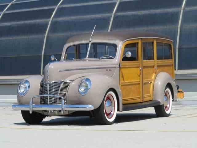 1940 Ford Woody Wagon | 1007116