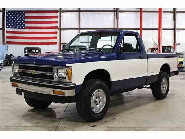 classic chevrolet s10 for sale on 20 available. Black Bedroom Furniture Sets. Home Design Ideas