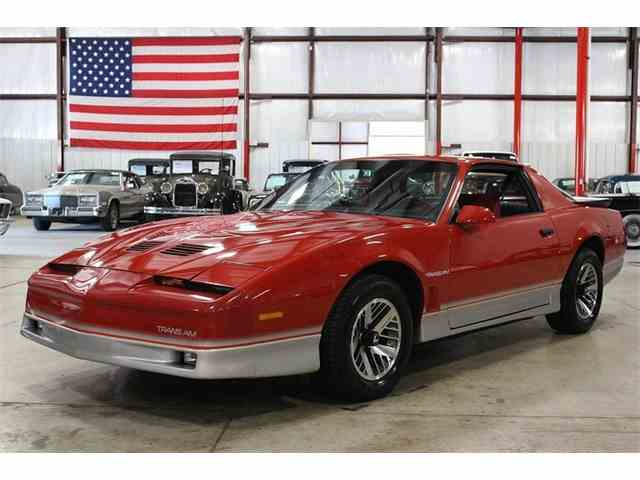 1985 pontiac firebird trans am for sale on 5 available. Black Bedroom Furniture Sets. Home Design Ideas