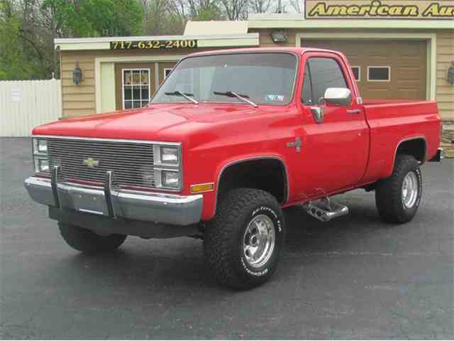 1983 to 1985 chevrolet silverado for sale on 11 available. Black Bedroom Furniture Sets. Home Design Ideas