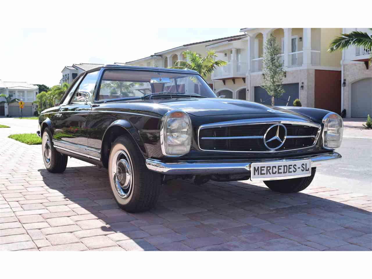 1966 mercedes benz 230sl for sale cc for Mercedes benz for sale in florida