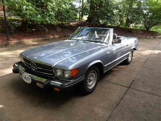1985 mercedes benz 380sl for sale on. Black Bedroom Furniture Sets. Home Design Ideas