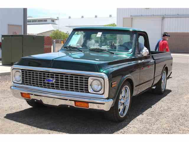 1972 Chevrolet C10 Shortbed Custom   1007252