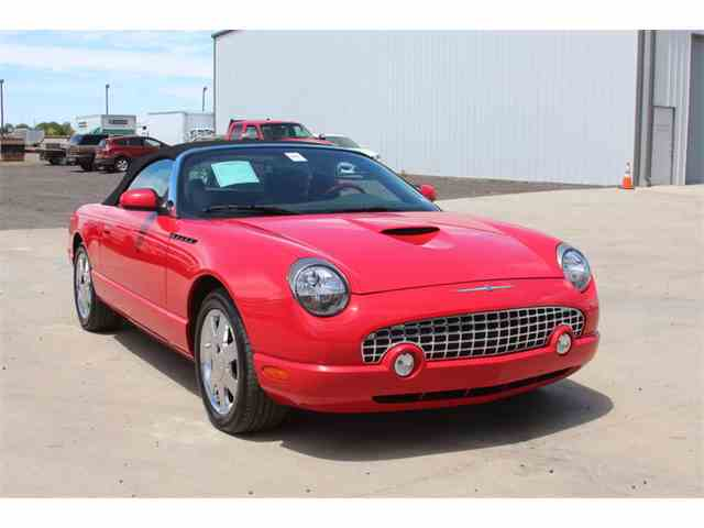2002 to 2005 ford thunderbird for sale on 58 available. Black Bedroom Furniture Sets. Home Design Ideas
