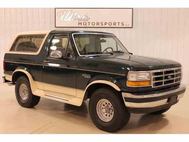 1992 Ford BroncoEddie Bauer 2dr Eddie Bauer   1000731