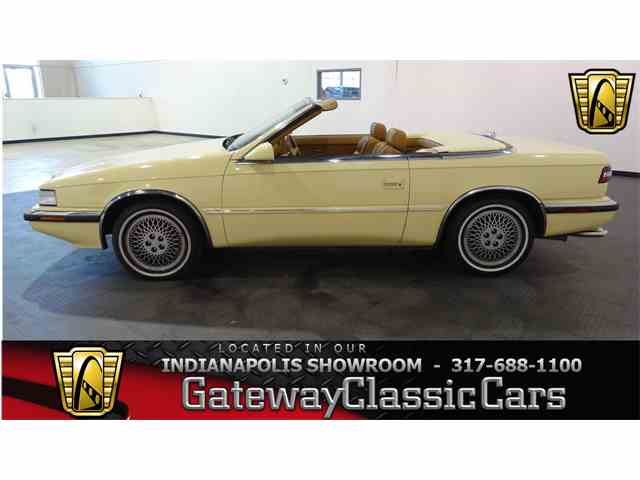 1989 Chrysler TC by Maserati | 1007511