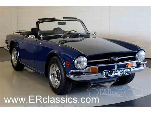 1972 Triumph TR6   1007672