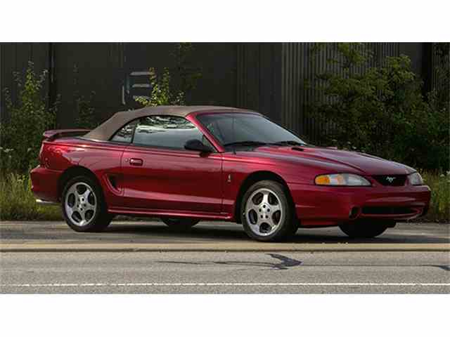 1996 Ford Mustang SVT Cobra Convertible - Barn Find | 1007785
