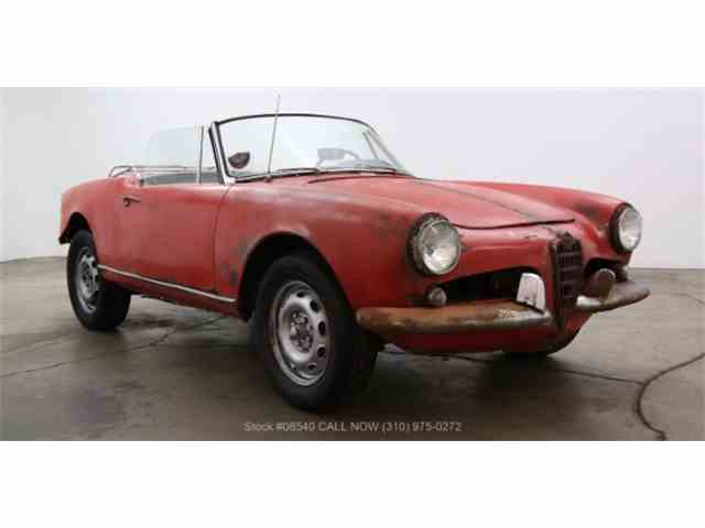 1963 Alfa Romeo Giulietta Spider | 1007848
