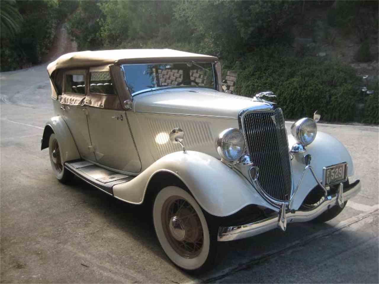 1934 ford phaeton for sale cc 1008032. Black Bedroom Furniture Sets. Home Design Ideas