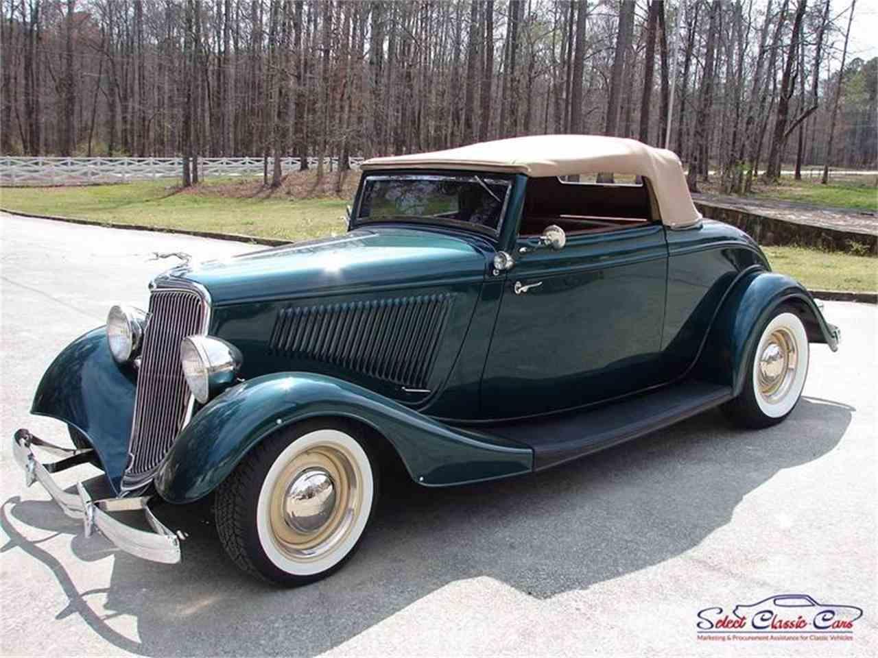 1934 ford roadster for sale cc 1008114. Black Bedroom Furniture Sets. Home Design Ideas
