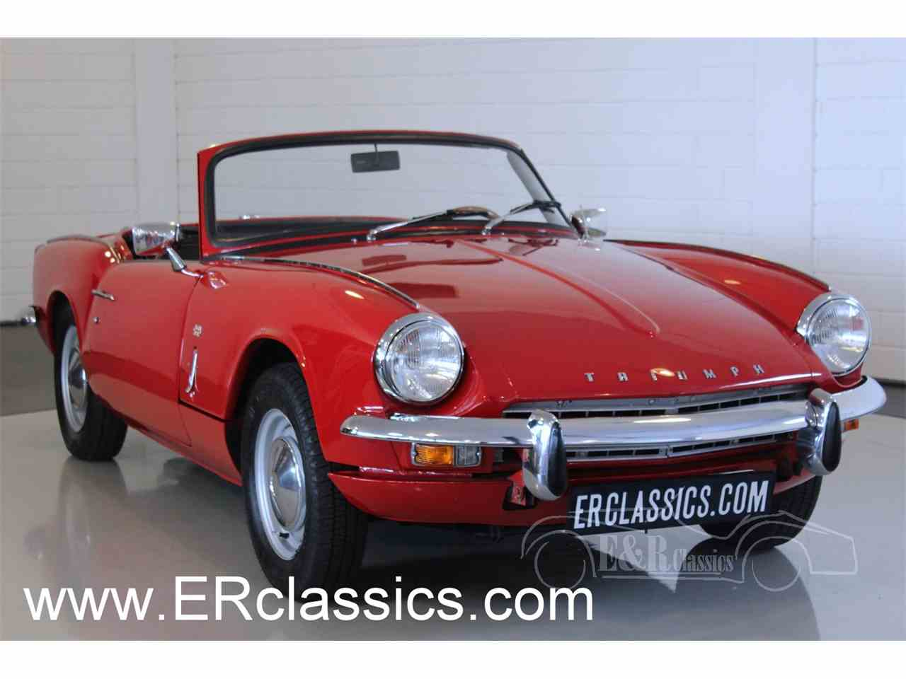 1968 triumph spitfire for sale cc 1008289. Black Bedroom Furniture Sets. Home Design Ideas