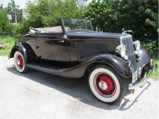1934 Ford Cabriolet | 1008298