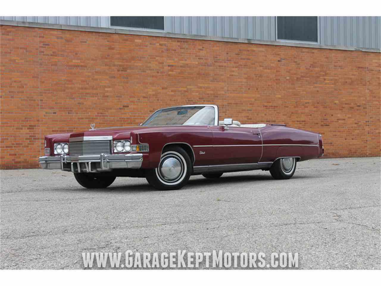 1974 Cadillac Eldorado For Sale Classiccars Com Cc 1008332
