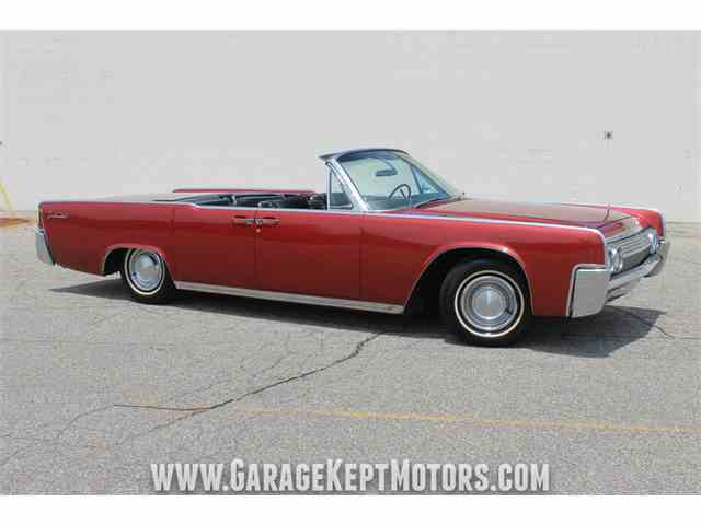 1963 Lincoln Continental 4-Door Convertible | 1008394