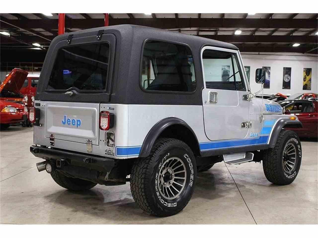 1986 jeep cj7 for sale cc 1008560. Black Bedroom Furniture Sets. Home Design Ideas
