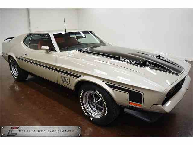 1971 Ford Mustang Mach 1 | 1008567
