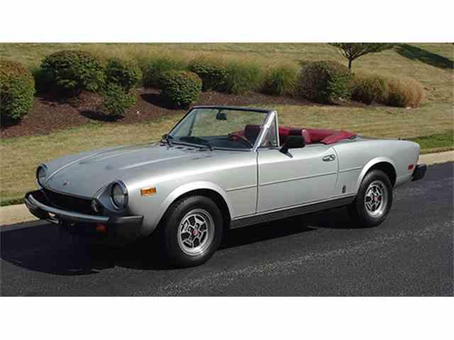 1979 Fiat Spider   1008834