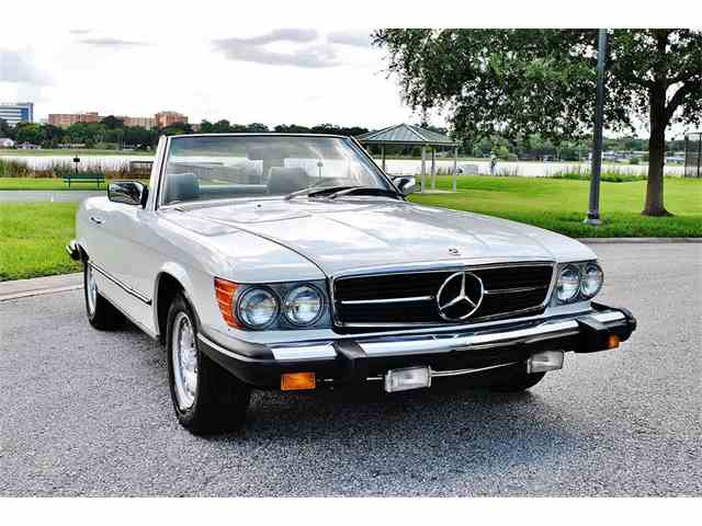 1980 Mercedes Benz 450sl For Sale On