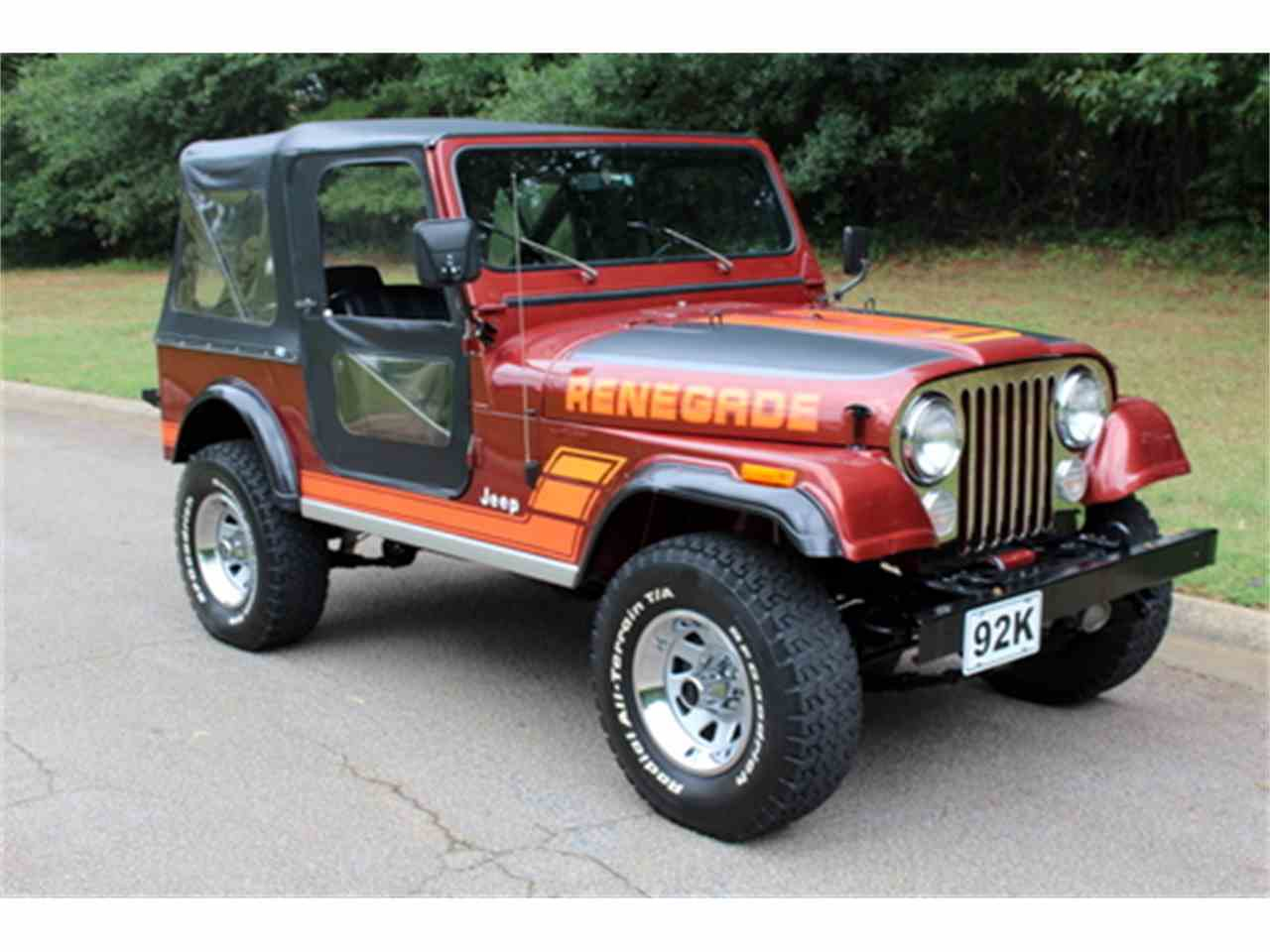 1984 jeep cj7 for sale cc 1009011. Black Bedroom Furniture Sets. Home Design Ideas