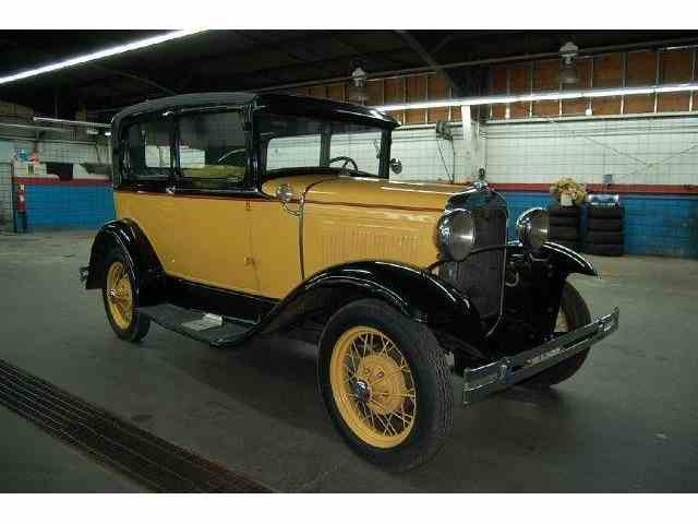 1930 Ford Model A 2 Door Tudor | 1009068