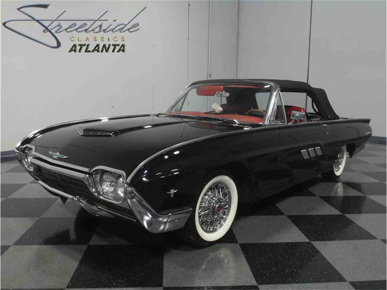 1963 ford thunderbird sports roadster 1000907